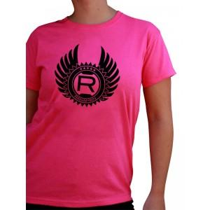 Camiseta Rosa Mujer ALAS