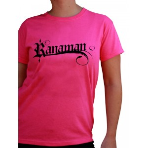 Camiseta Rosa Mujer RANAMAN