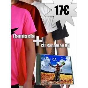 Camiseta + CD Ranaman O2